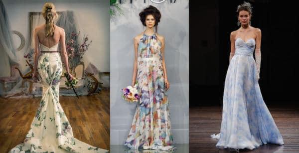 Le Rose Planning - abiti da sposa dipinti