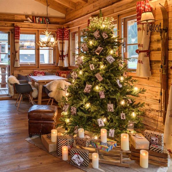 Albero di Natale interno
