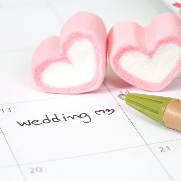 stagione per le nozze
